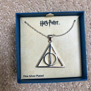 *NEW* Silver Plated Harry Potter Necklace!